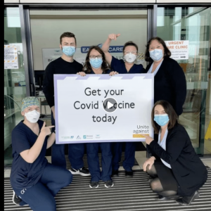 Staff 100% vaccinated for Covid-19 at East Care